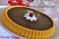 Çikolatalı Tart Tarifi Tart Recipes, Gourmet Recipes, Low Carb Recipes, No Bake Desserts, Easy Desserts, Dessert Recipes, Drink Recipes, Delicious Chocolate, Chocolate Desserts