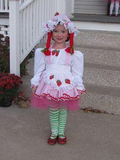 Custom Strawberry Shortcake Tutu Costume via Etsy