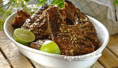 Lamb Chops in Cider and Mint Spice Combinations, South African Recipes, Lamb Chops, Chicken Wings, Spices, Cooking Recipes, Mint, Yummy Food, Beef