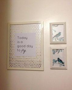 diy art...like for kids bathroom