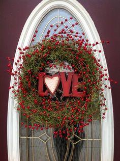 Valentine's day wreath!