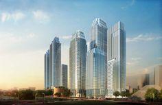 District 8 SCBD, South Jakarta / Mixed-use developments / 7 Towers | 60 Fl | 44 Fl | 26 Fl | 40 Fl | 49 Fl x 2 | 34 Fl  / Under Construction (source: Skyscrapercity Jakarta Forum)