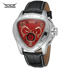 Limited Offer $19.99, Buy Men Watches Automatic Cobra Watch Army Mechanical Calendar week show Leather Sport watch Military Luxury brand Relogio Masculino