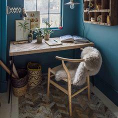 Amaliah Chevron Desk | Furniture | Graham