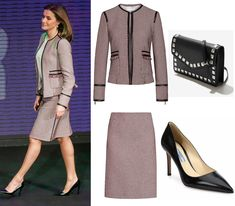 Queen Letizia chose a stunning tailored look for World Rare Diseases Day