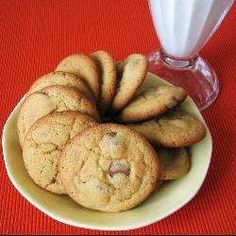 This recipe makes amazing soft, chewy chocolate chip cookies! I usually double the recipe and my flatmates eat the lot in a few days! Biscuit Cake, Chewy Chocolate Chip Cookies, How To Double A Recipe, Allrecipes, Cake Cookies, Yummy Cakes, Afternoon Tea, Nom Nom, Biscuits