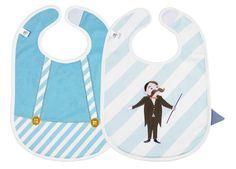 Ook tijdens het eten maken de kleren de man. Met deze waterdichte slabbetjes zit je baby zeker goed!