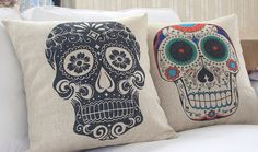 1 Decorative Linen cotton Pillow Cover human by Emilybeauty