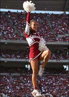 University Of Alabama Cheerleaders