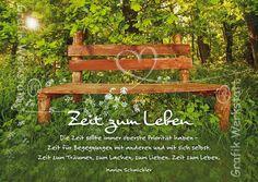 Zeit zum Leben - Postkarten - Grafik Werkstatt Bielefeld
