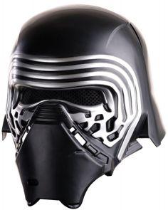 STAR WARS COSTUMES: : Star Wars The Force Awakens - Boys Kylo Ren Helmet