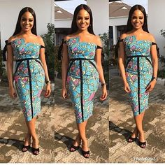 2019 Latest and Lovely Ankara Short Gown Styles - Naija's Daily Best African Dresses, Latest African Fashion Dresses, African Inspired Fashion, African Print Dresses, African Print Fashion, African Outfits, African Lace, African Prints, African Style