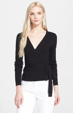 Diane von Furstenberg 'Ballerina' Wrap Sweater available at #Nordstrom