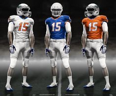 New Florida Gator Nike uniforms (2012)
