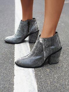 Vegan Addison Heel Boot