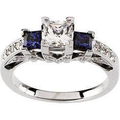 14 Karat White Gold Blue Sapphire & Diamond Semi-mount Engagement Ring Diamond Designs, http://www.amazon.com/dp/B003OZCJMK/ref=cm_sw_r_pi_dp_w5T.pb02KF021