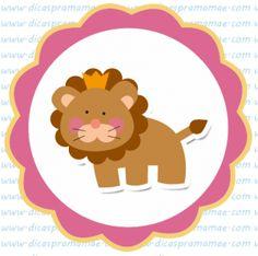 tag aniversario safari leao