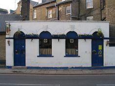 The Radegund, King's Street, Cambridge. Smallest and best pub in Cambridge.