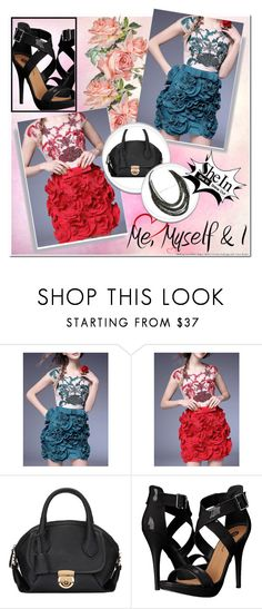 """""""3#SheIn"""" by fatimka-becirovic ❤ liked on Polyvore featuring Michael Antonio"""