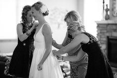 Bride wedding hair