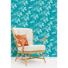 Buy Mini Moderns Fayre's Fair Wallpaper, Lido Online at johnlewis.com