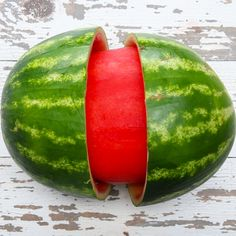Trick Your Friends with This Skinned Watermelon