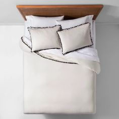 Yarn Dyed Tassel Trim Duvet Cover Set - Opalhouse™ : Target