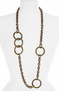 Kelly Wearstler Asymmetrical Chain Necklace