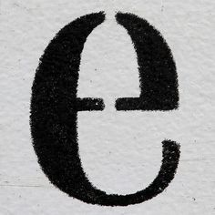 e, lettering, design, typewriter, typography, type