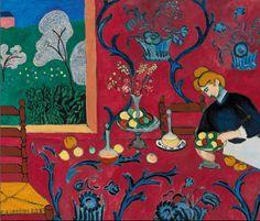 LA COLLECTION MYTHIQUE À PARIS La fondation Louis Vuitton expose une des collections d'art moderne les plus célèbres au monde, celle de Sergueï Chtchoukine. // La Desserte, Harmonie en rouge, Henri Matisse (1908).