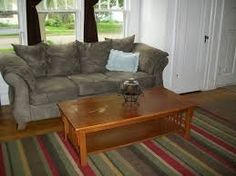 couch/rug/coffee table