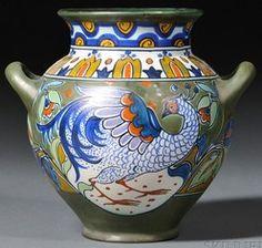 Gouda Pottery Jar.