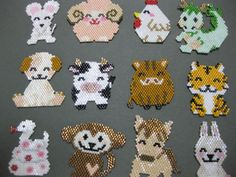 brick stitch animals                                                                                                                                                                                 More