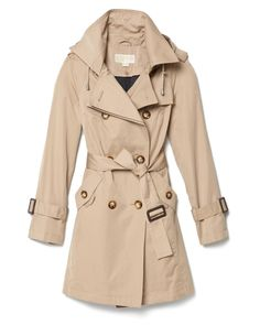 Michael Kors trench coat....saw at TJ Maxx for $99 but they didn't have my size.