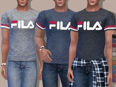 Pinkzombiecupcakes' Fila Tees For Him
