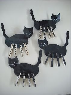 "Matching & counting peg-legs for black cats ("",)"