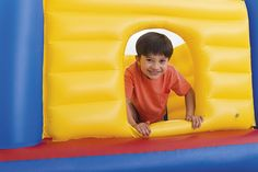 Intex Jump O Lene Castle Inflatable Bouncer, for Ages Ball Pit Castle, Inflatable Bounce House, Kids Trampoline, Mattress On Floor, High Walls, Bouncers, Smiles And Laughs, Best Leggings, Play Houses