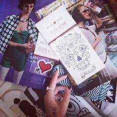 Photo by Anna Ponsa Lopez Blog Miss Nobody - Nos tattoos et écussons sont en Espagne - http://www.bernardforever.fr/products/la-vie-est-belle