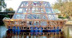 Image result for diy barrel barge