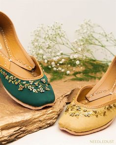 Stunning and quirky bridal footwear for a complete bridal look! Wedding Looks, Red Wedding, Bridal Looks, Perfect Wedding, Wedding Dress, White Heels, Pink Heels, Pencil Heels, Mehndi Ceremony