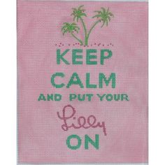 Words of Wisdom for the Lilly Lover via Polyvore