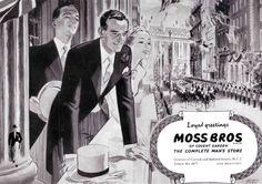 Moss Bros Morning Coat Ad