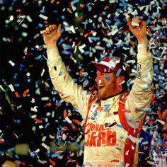 First winner of the 2014 season -- Dale Earnhardt Jr.