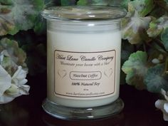 10 oz Natural Soy Candle $11.95