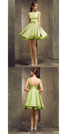 Short/Mini Taffeta Bridesmaid Dress - Sage Plus Sizes / Petite A-line Bateau Taffeta Bridesmaid Dress, Sage Bridesmaid Dresses, Dresses Uk, Prom Dresses, Buy Dress, Mini, Plus Size, Women, Ball Gowns