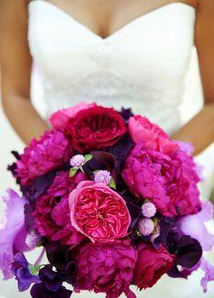 Wedding Bouquets, Bridal Bouquets, Peony Bouquet, Wedding Flowers || Colin Cowie Weddings
