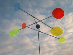 Windspiele - FebruarKonfetti Windspiel Lichtsammler Kreis - ein Designerstück von Insektenhotel-shop bei DaWanda