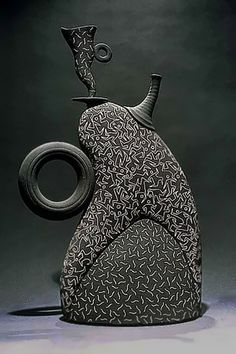 Multiple Figures Tea Pot by Michael Torre