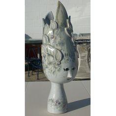 Modernist Rosenthal Studio-Linie Bjorn Wiinblad White Vase
