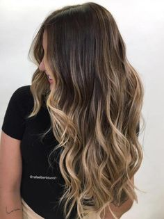 Mermaid Hair with Balayage Highlights